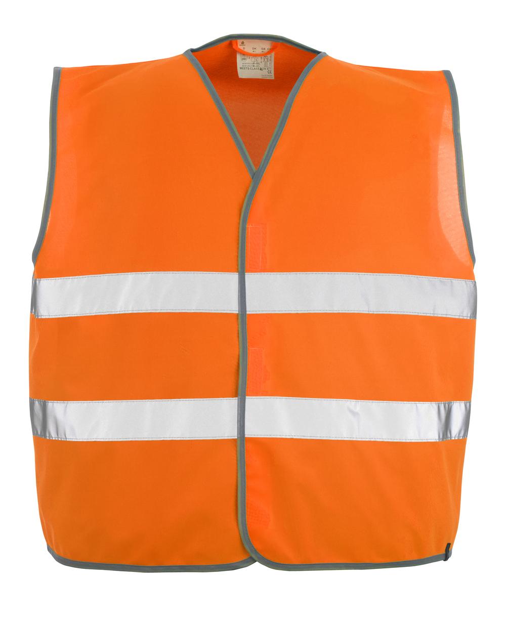 50187-874-14 Trafikkvest - hi-vis oransje