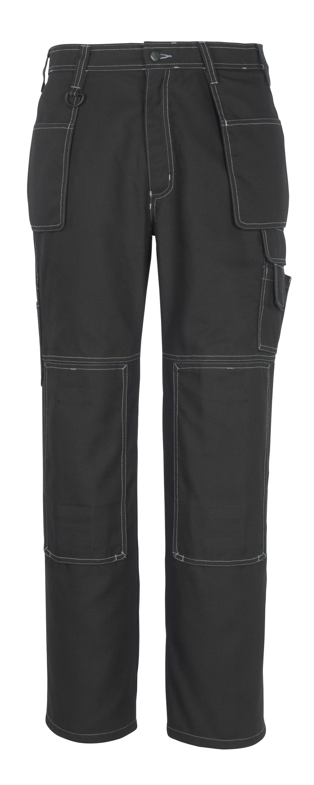 50194-884-09 Bukser med kne- og hengelommer - svart