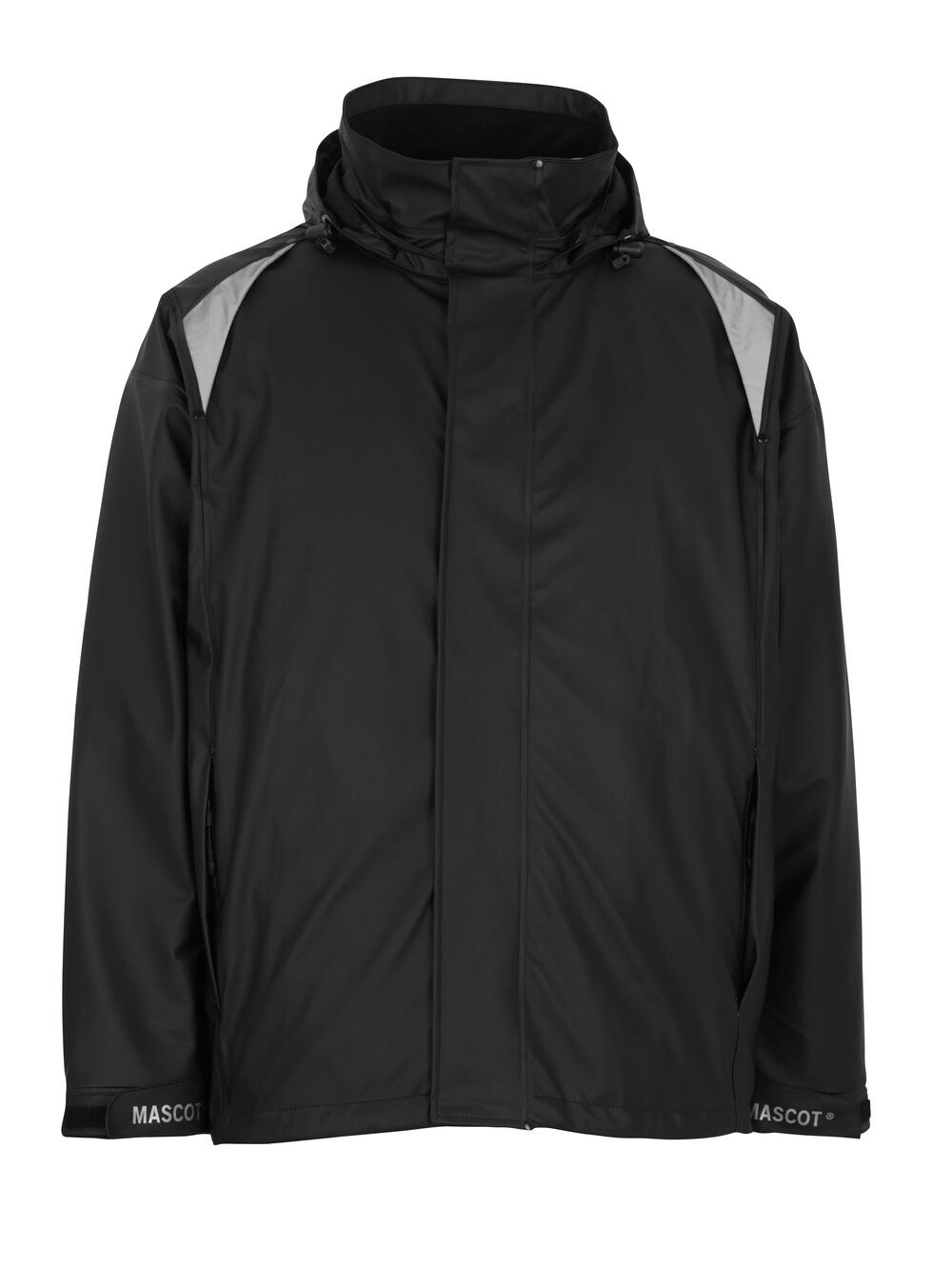 50202-859-09 Regnjakke - svart