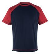 50301-250-12 T-skjorte - marine/rød