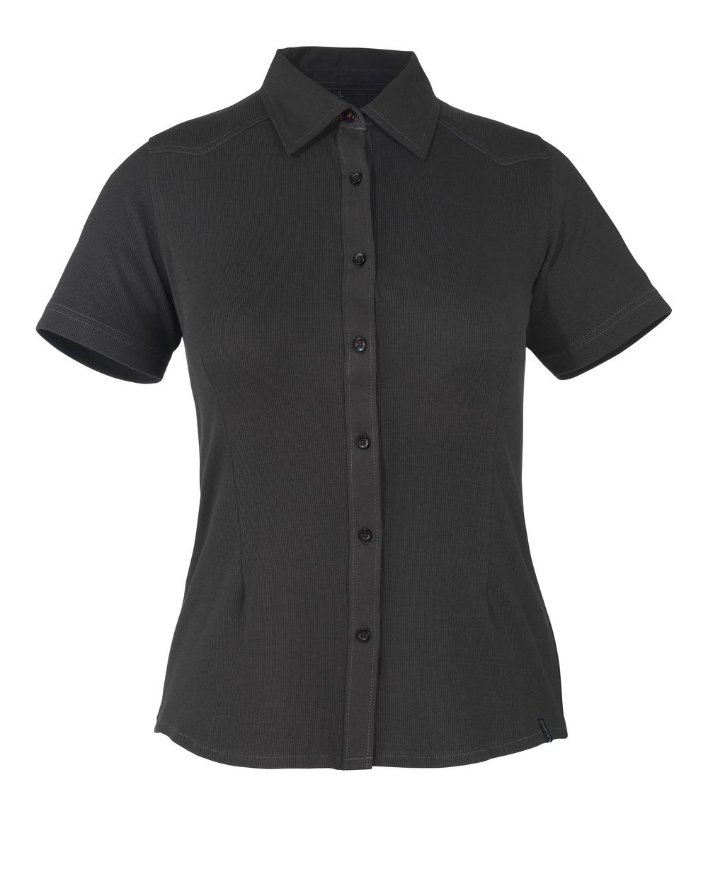 50374-863-09 Skjorte, kortermet - svart