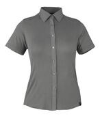 50374-863-118 Skjorte, kortermet - lys antrasitt