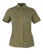 50374-863-119 Skjorte, kortermet - lys oliven