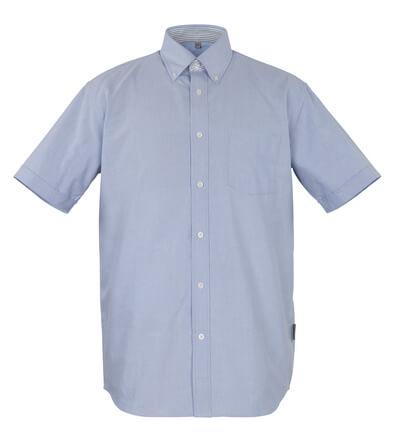 50377-887-B13 Skjorte, kortermet - oxford blå