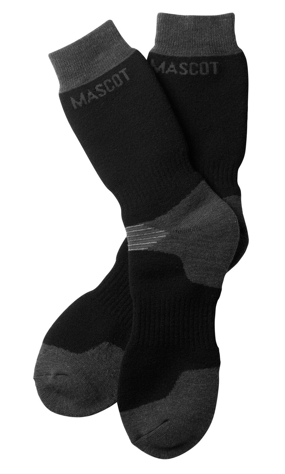 50404-876-0918 Sokker - svart/mørk antrasitt