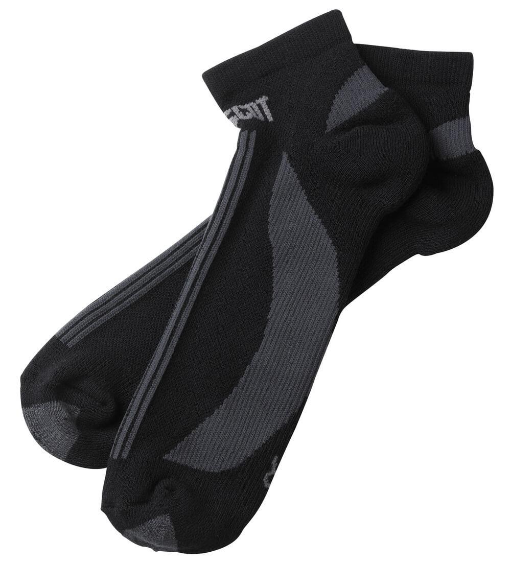 50411-881-0918 Sokker - svart/mørk antrasitt