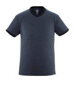 50415-250-66 T-skjorte - vasket mørk blå denim