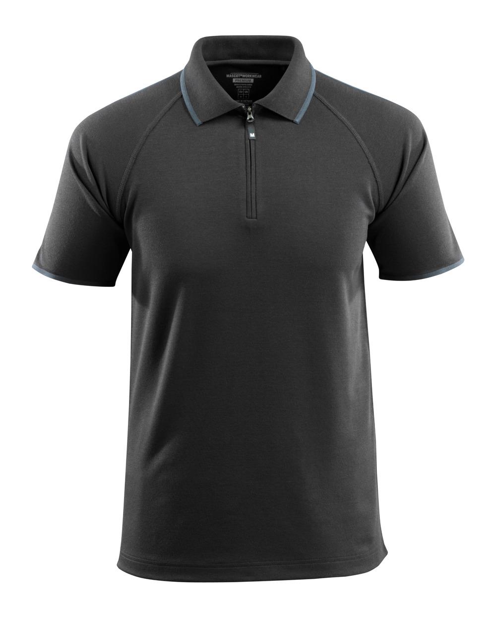 50458-978-09 Pikéskjorte - svart