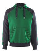 50508-811-0309 Hettegenser - grønn/svart