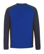 50568-959-11010 T-skjorte, langermet - kobolt/mørk marine