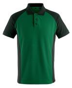 50569-961-0309 Pikéskjorte - grønn/svart