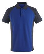 50569-961-11010 Pikéskjorte - kobolt/mørk marine