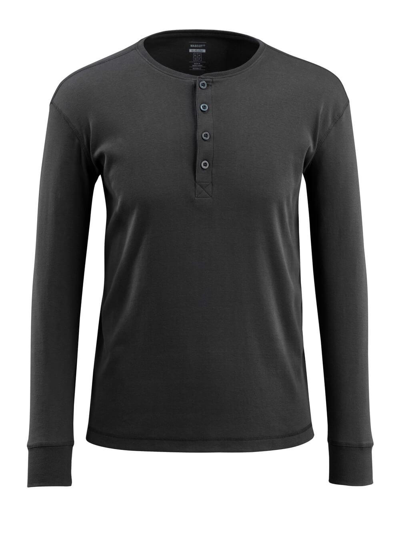 50581-964-09 T-skjorte, langermet - svart