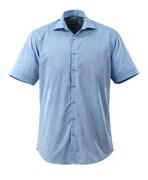 50632-984-71 Skjorte, kortermet - lys blå