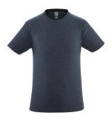 51579-965-66 T-skjorte - vasket mørk blå denim