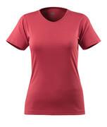 51584-967-96 T-skjorte - bringebærrød