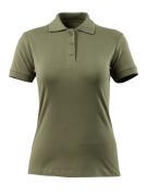 51588-969-33 Pikéskjorte - mosegrønn