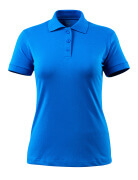 51588-969-91 Pikéskjorte - azurblå