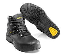 F0074-902-0907 Vernestøvler - svart/gul