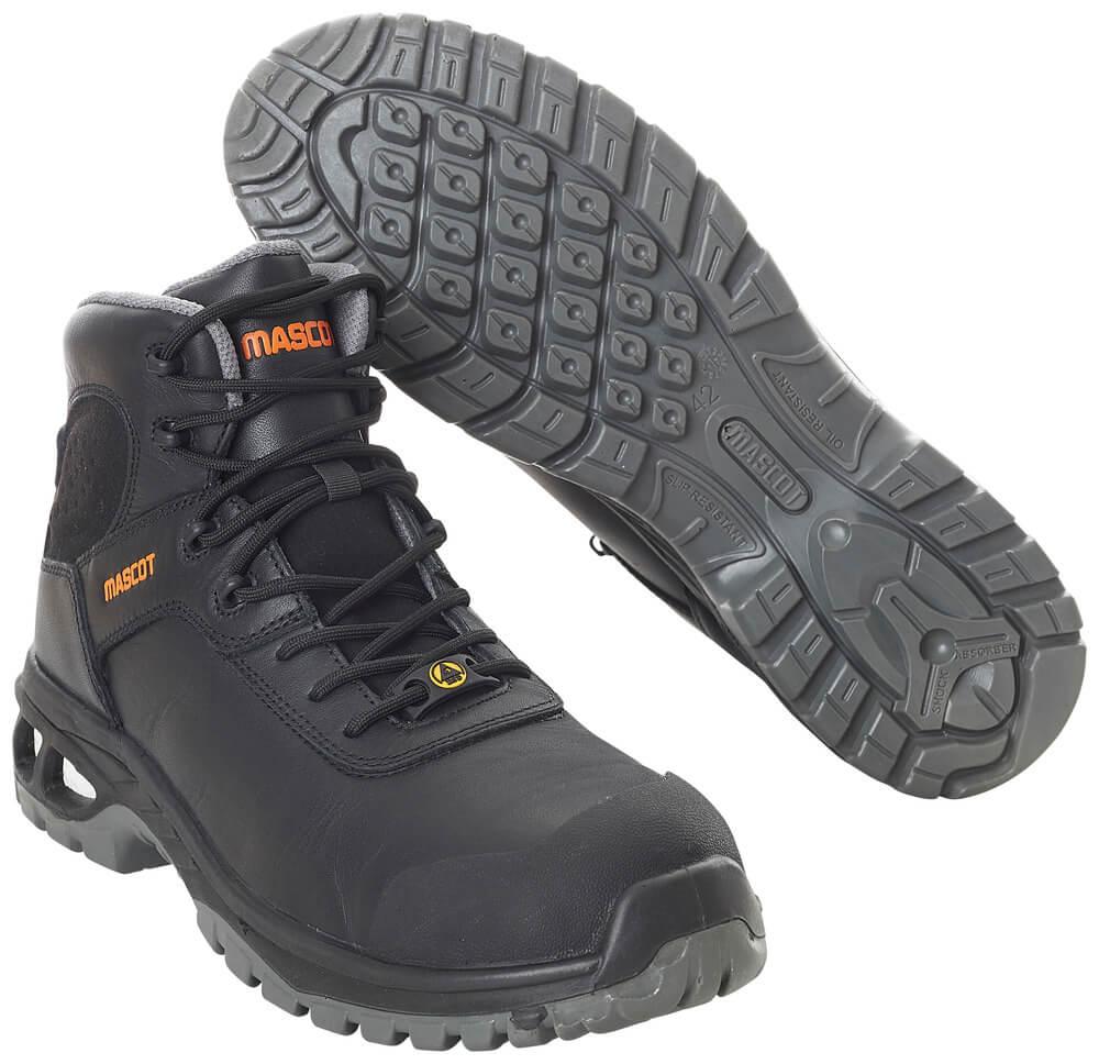 F0135-902-09 Vernestøvler - svart