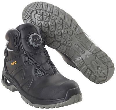 F0136-902-09 Vernestøvler - svart