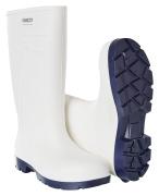 F0850-703-06 PU-arbeidsstøvler - hvit