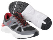 F0950-909-A84 Sneakers - svart/mørk antrasitt/rød